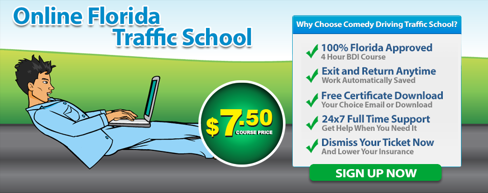 Florida Online Traffic School State Approved